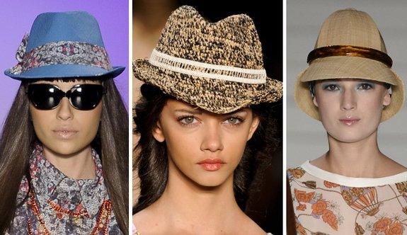 Os chapéus estão entre as tendências da moda para o verão 2013. (Foto: divulgação)
