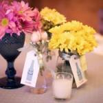 Enfeites charmosos com flores do campo.  (Foto:Divulgação)
