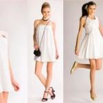 Vestido curto e branco é um clássico para o réveillon. (Foto:Divulgação)