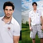 Look masculino composto por camisa polo e bermuda. (Foto:Divulgação)