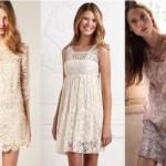 Os vestidos claros e delicados se destacam como a principal escolha feminina. (Foto:Divulgação)