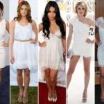 Opções de roupas usadas pelas famosas. (Foto:Divulgação)