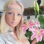 Valeria Lukyanova  tem o rosto idêntico ao da boneca mais famosa do mundo. (Foto:Divulgação)