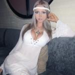 A russa Valeria Lukyanova  tem corpo e rosto de Barbie. (Foto:Divulgação)