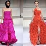 As fendas são ótimas opções para vestidos com babados.  (Foto: divulgação)