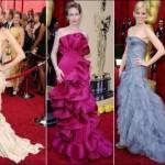 Os vestidos com babados são indicados para mulheres mais magras, pois proporcionam mais volume ao corpo. (Foto: divulgação)