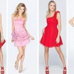 Os vestidos coloridos são ótimas opções para o Réveillon 2015. (Foto: divulgação)
