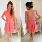 Os vestidos rosa são lindos e podem ser usados no Réveillon. (Foto: divulgação)