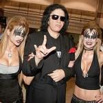 Outro astro que tem uma enorme lista de parceiras e é viciado em sexo é Gene Simmons, baixista do Kiss (Foto: Divulgação)