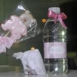 Todos os itens são cor de rosa e branco, além do que contam com o nome de Eva impresso. (Foto:Divulgação)