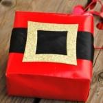 Aprenda a fazer embalagens para presentes de Natal 3