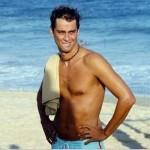 Marcello Antony viveu o personagem Sérgio, jogador de vôlei de praia em Mulheres Apaixonadas (Foto: Divulgação)