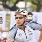 Cauã Reymond viveu o papel do ciclista Danilo, em Passione (Foto: Divulgação)
