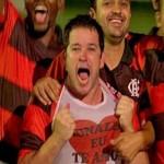 Murilo Benício (no centro) é Jorge Tufão, um jogador aposentado em Avenida Brasil (Foto: Divulgação)