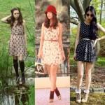 Os vestidos com estampas de borboleta estão na moda.  (Foto: divulgação)