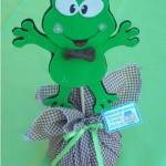 Os sapinhos podem ser usados na decoração dos pesos de porta. (Foto: divulgação)