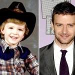 Justin Timberlake já era charmoso quando criança. (Foto:Divulgação)