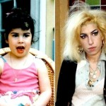 Amy Winehouse na infância. (Foto:Divulgação)