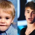 Justin Bieber quado era um 'baby'. (Foto:Divulgação)