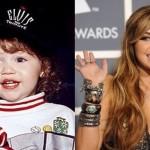 Miley Cyrus quando pequena. (Foto:Divulgação)