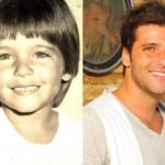 Bruno Gagliasso nos seus tempos de infância. (Foto:Divulgação)