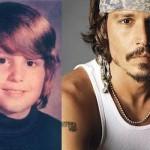 Nesta época, Johnny Depp nem sonhava que seria um ator de sucesso. (Foto:Divulgação)