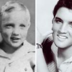 Elvis Presley era um menino loirinho. (Foto:Divulgação)