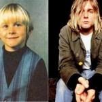 Kurt Cobain era um lindo menino loirinho. (Foto:Divulgação)