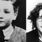 John Lennon quando era menino. (Foto:Divulgação)