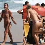 Mirela Santos sem medo de mostrar as celulites. (Foto:Divulgação)