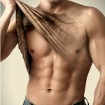 Linha de depilação masculina Veet