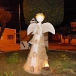 Anjo feito de tecido e isopor.(Foto: Divulgação)