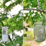 Luminárias de vidro e velas.(Foto: Divulgação)