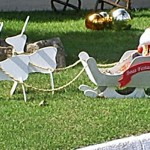 Enfeite de jardim. (Foto: Divulgação)