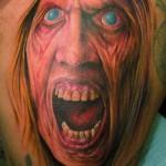 Os filmes de terror são uma grande inspiração para as tatuagens assustadoras (Foto: Divulgação)