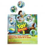 Convites para a festa com tema Toy Story 3. (Foto:Divulgação)