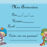 Convites para a festa com tema Patati Patata. (Foto:Divulgação)