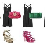 Aposte em combinações harmoniosas de roupas e sapatos de festa. (Foto: divulgação)