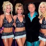 Hugh Hefner, o fundador da Playboy, vive cercado por beldades bem mais jovens que ele, que tem 86 anos de idade (Foto: Divulgação)