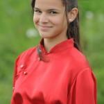 """Em """"Negócio da China"""", a garota viveu Flor de Lys. (Foto: Divulgação)"""