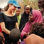 Angelina Jolie é uma celebridade filantrópica. (Foto:Divulgação)