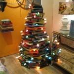 As árvores de Natal criativas são uma boa opção para mudar a decoração natalina de casa (Foto: Divulgação)