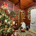 O pinheiro é o ponto de destaque da decoração de natal. (Foto: Divulgação)