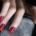 Vermelho e vinho para fazer unhas inglesinhas. (Foto:Divulgação)