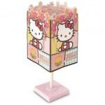 Abajur Quadrado Floral Hello Kitty por R$ 78,00. (Foto:Divulgação)