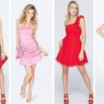 Existem vestidos curtos com diferentes acabamentos. (Foto:Divulgação)