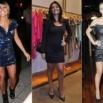 Se a mulher é básica e discreta deve tomar cuidado com a escolha do vestido curto. (Foto:Divulgação)