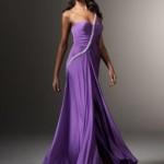 Vestido lilás cheio de charme. (Foto:Divulgação)