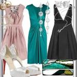 Diferentes cores e acessórios para vestidos de Natal (Foto: Divulgação)