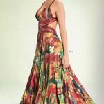 Os vestidos estampados podem ser usados em festas. (Foto: divulgação)